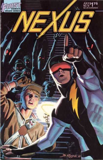 Nexus 10 - Deluxe Series - Lightening Bolt - Costume - Monster - Evil Shadows - Steve Rude