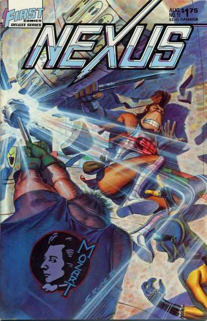 Nexus 11 - Mozart - First Comics - Deluxe Series - No 11 - 175 - Steve Rude