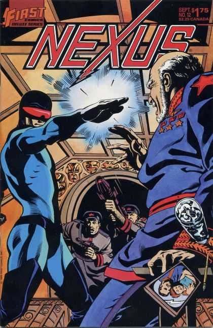 Nexus 12 - First - Gun - Photo - Shooting - Red Eye - Steve Rude