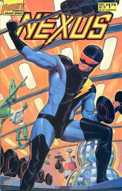 Nexus 15 - First Comics - Decs175 - No15 - 245 Canada - Deluxe Series - Steve Rude