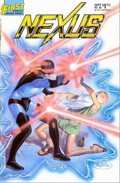 Nexus 36 - Lazer - Nexus - First - Lightning - Fight - Steve Rude