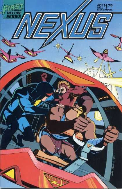 Nexus 7 - First Deluxe Series - Apr - No7 - 225 Canada - Driving - Steve Rude