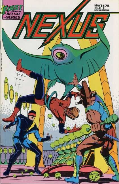 Nexus 8 - First - Deluxe Series - Fighting - Balls - Bird - Steve Rude