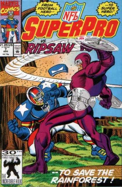 NFL SuperPro 7 - Joe Sinnott