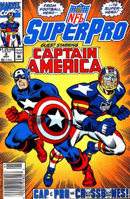 NFL SuperPro 8 - Joe Sinnott