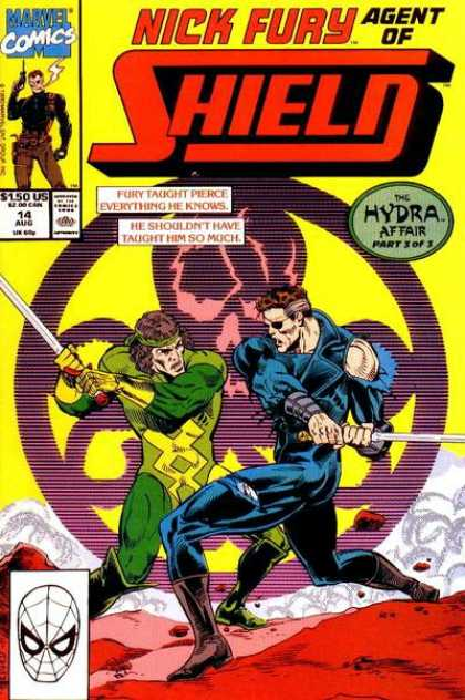 Nick Fury, Agent of SHIELD (1989) 14