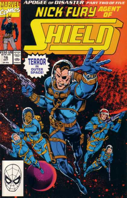 Nick Fury, Agent of SHIELD (1989) 16