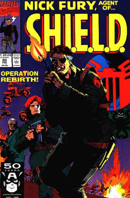 Nick Fury, Agent of SHIELD (1989) 20