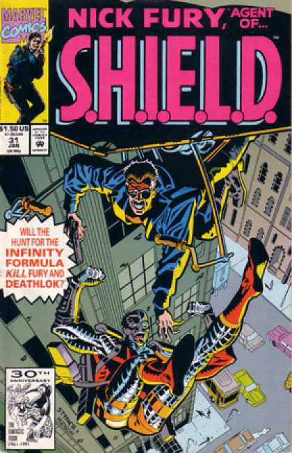 Nick Fury, Agent of SHIELD (1989) 31
