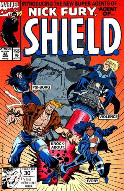 Nick Fury, Agent of SHIELD (1989) 33