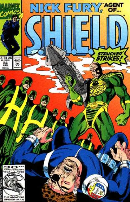 Nick Fury, Agent of SHIELD (1989) 34
