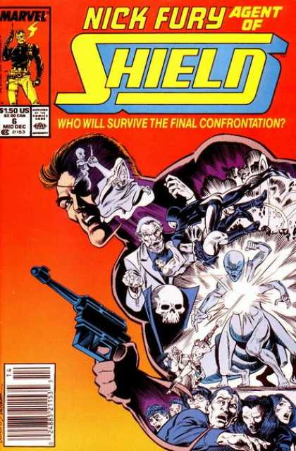 Nick Fury, Agent of SHIELD (1989) 6