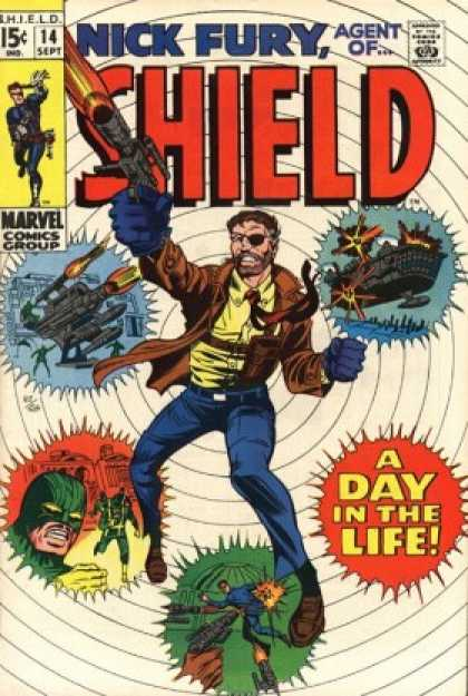 Nick Fury, Agent of SHIELD 14