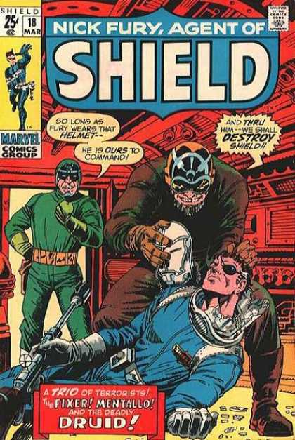 Nick Fury, Agent of SHIELD 18