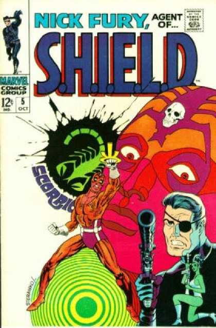 Nick Fury, Agent of SHIELD 5
