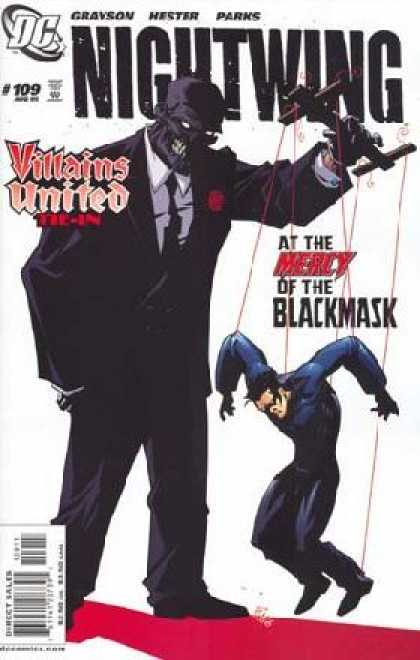 Nightwing 109 - Villans United - At The Mercy Of The Blackmask - Puppet Strings - Gravson - Hester - Phil Hester