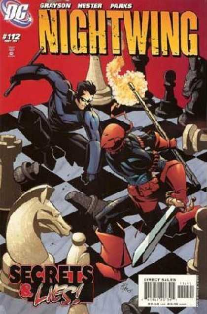 Nightwing 112 - Grayson - Hester - Parks - Secrets U0026 Lies - Direct Sales - Phil Hester