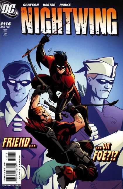 Nightwing 114 - Friend Or Foe - Dc - 114 - January Issue - Grayson - Phil Hester