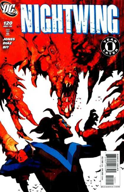 Nightwing 120 - Dc - Dragon - Eyes - Year Later - Knife - Mark Simpson