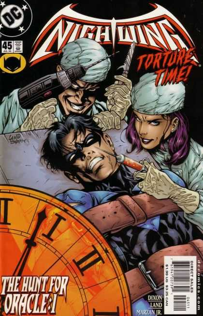 Nightwing 45 - Nightwing - Torture Time - Drill - Needle - Hunt For Oracle