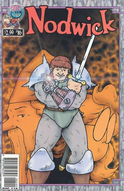 Nodwick 16 - Sword - Armor - 16 - 299 - Dork Storm Comics - Aaron Williams