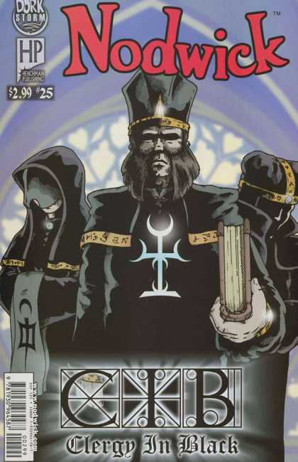 Nodwick 25 - Dork Storm - Priest - Cib - Book - Clergy In Black - Aaron Williams