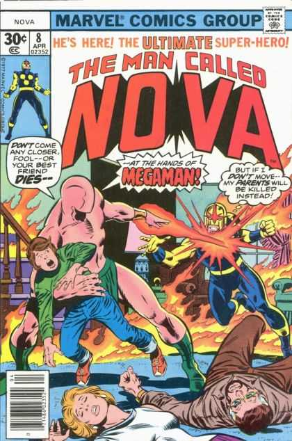 Nova 8 - The Ultimate Super-hero - Marvel - Comics Group - Nova - Megaman - Adi Granov, John Buscema