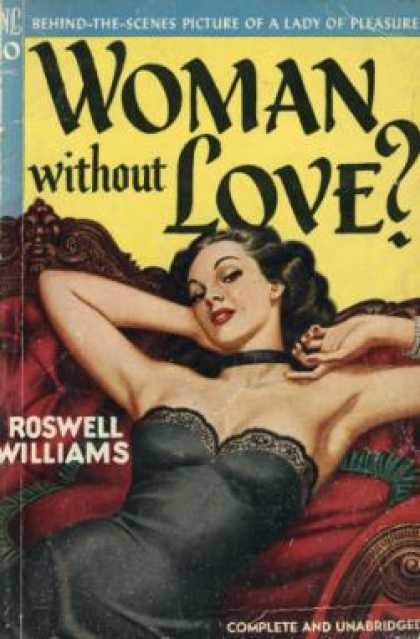 Novel Library - Woman Without Love - Roswell Williams