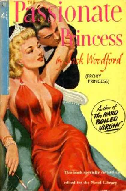 Novel Library - The Passionate Princess - Jack Woodford
