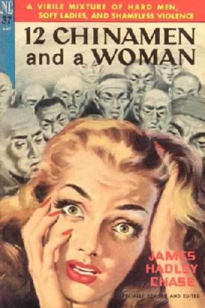 Novel Library - Twelve Chinks and a Woman - James Hadley Chase