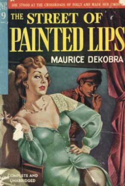Novel Library - The Street of Painted Lips - Maurice Dekobra