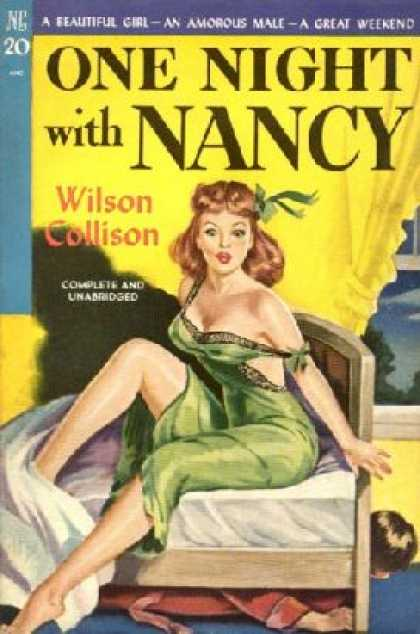 Novel Library - One Night With Nancy - Wilson Collison