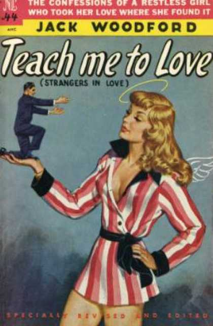 Novel Library - Teach Me To Love - Jack Woodford
