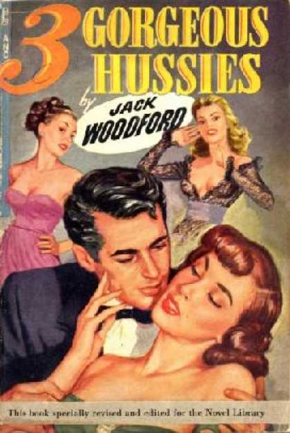 Novel Library - Three Gorgeous Hussies
