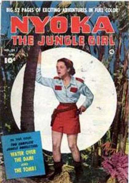Nyoka the Jungle Girl 54 - 52 Pages - 10 C - Girl - Forest - Tree