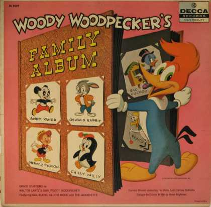 Oddest Album Covers - <<Woody Woodpecker's Family Album>>