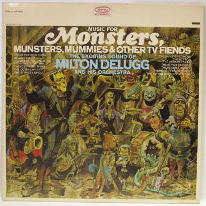 Oddest Album Covers - <<Music for Monsters>>