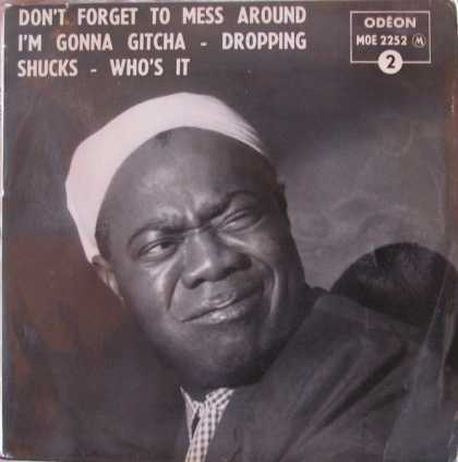 Oddest Album Covers - <<Satchmo's rag>>