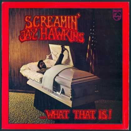 Oddest Album Covers - <<The comeback of Screamin' Jay Hawkins>>