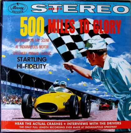 Oddest Album Covers - <<A race record>>