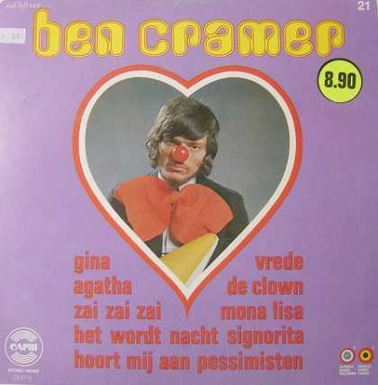 Oddest Album Covers - <<The sneers of a clown>>