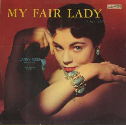 Oddest Album Covers - <<Spotlight on a lady>>
