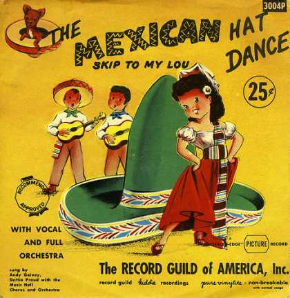 Oddest Album Covers - <<The Mexican Hat Dance b/w Skip To My Lou>>