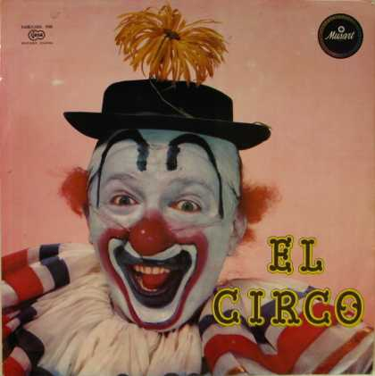 Oddest Album Covers - <<El Circo the Clown>>