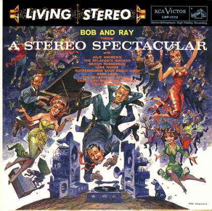Oddest Album Covers - <<Living Stereo>>