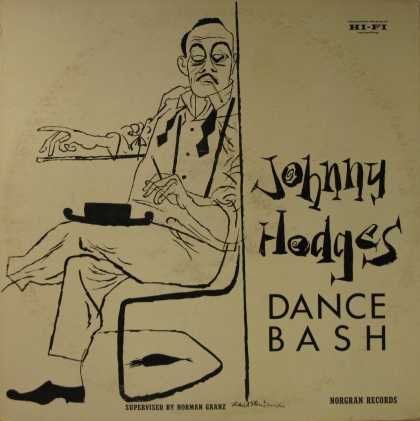 Oddest Album Covers - <<Johnny Hodges Dance Bash>>