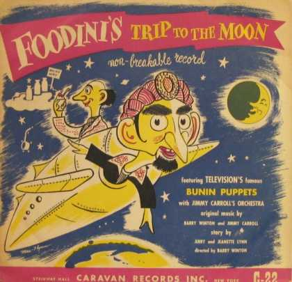 Oddest Album Covers - <<Foodini's Trip to the Moon>>
