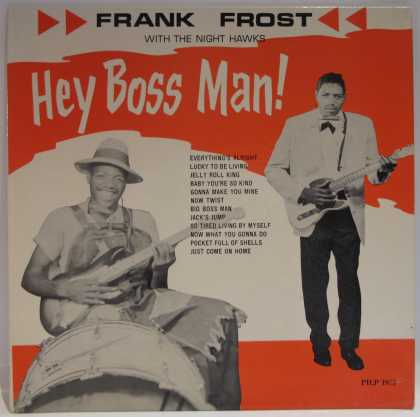 Oddest Album Covers - <<Hey Boss Man!>>