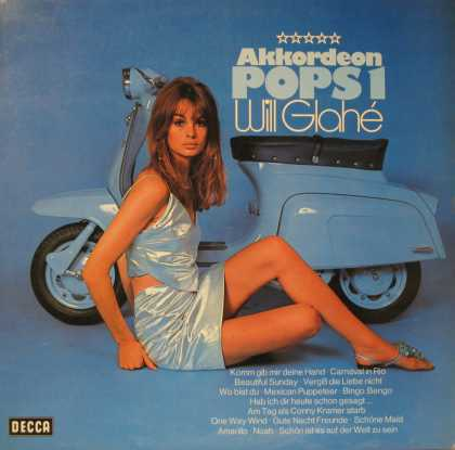 Oddest Album Covers - <<Blue minis>>