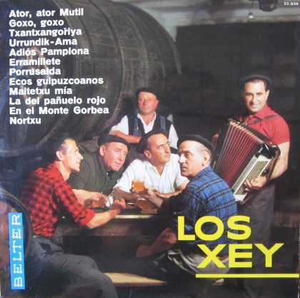 Oddest Album Covers - <<If you have to Basque>>